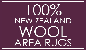 100% New Zeland Wool Area Rugs - 5'x8' regularly $800, on sale for $299!